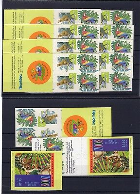 Australia , Valid Postage , Birds , Only Booklets, Face Value Aus $ 49 , Mnh