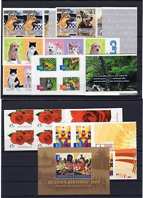 Australia , Valid Postage , Animals , Only Booklets, Face Value Aus $ 33 , Mnh