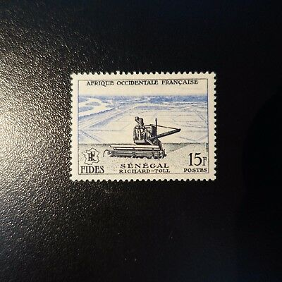 Afrique Occidentale Française Aof N°58 Neuf ** Luxe Mnh