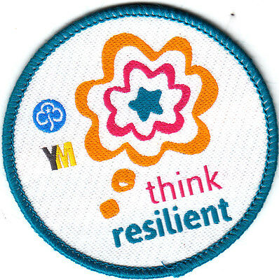 Girl Guide Badge YM think resilient