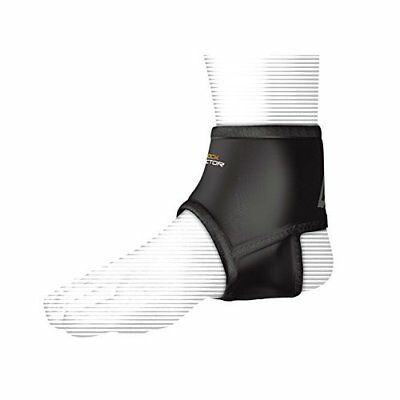 Shock Doctor Ankle Support Sleeve with Compression Fit - Black, Large