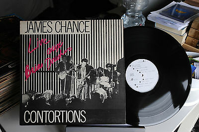 "James Chance And The Contortions - Live Aux Bai - Vinile - Lp 33 Giri - 12"" - Ex"