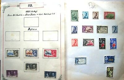 Selection Of Fiji Stamps, Lot#f1