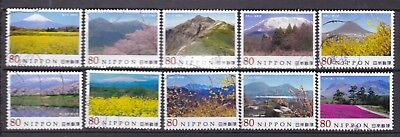 Japan Mountain Scenery Set (20) Used