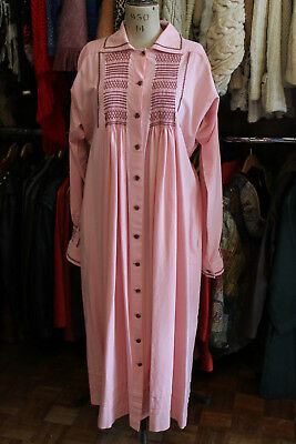 Vintage 19th century Style shepherds smock dress coat frocks
