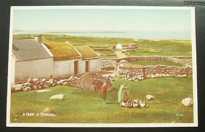 Postcard : A Farm in Donegal, Ireland
