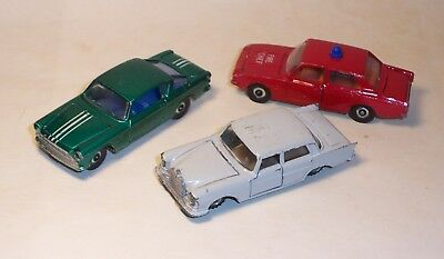 LONE STAR Vintage Impy & Flyers Lot Of 3 Models FORD CORSAIR Mercedes FIAT 2300S