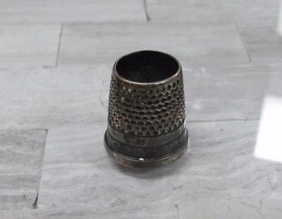 Sterling Silver Vintage #8 Thimble / No Top ~ 3.6 grams ~ 11-G543