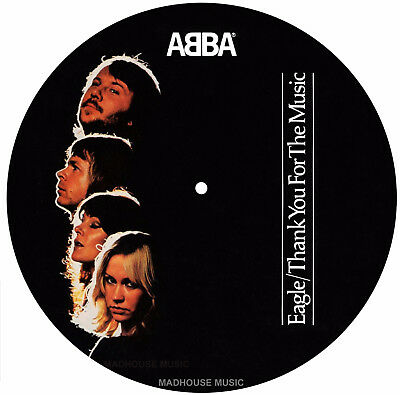 "ABBA 7"" Eagle / Thank You For The Music PICTURE DISC Limited 2017 NEW Vinyl PRE"