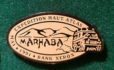 Pin's Rallye 1991 Atlas Rank xerox 4x4 Land rover