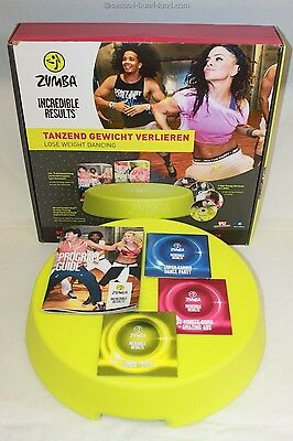 Zumba Incredible Results, mit Zumba Rizer und DVDs, Fitness