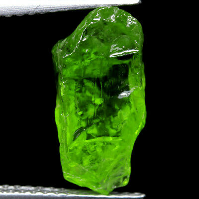 IF HIGH QUALITY 5.00ct 100%NATURAL UNHEATED GREEN PERIDOT ROUGH FACET NR!