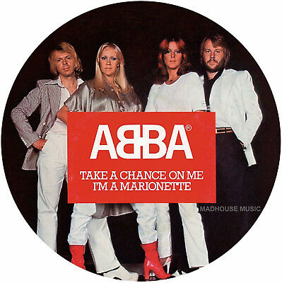 "ABBA 7"" Take A Chance On Me PICTURE DISC Limited Edition 2017 NEW Vinyl PRE-sell"