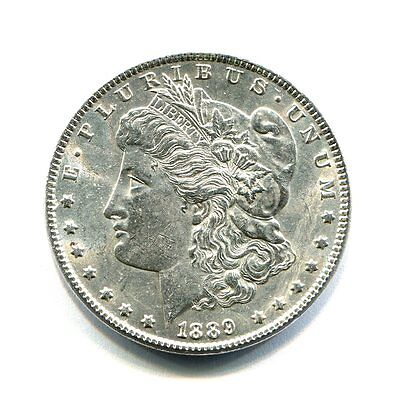 Usa Dollar Morgan Silver Plata 1889 Ebc
