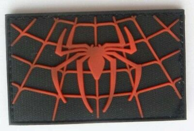 3D PVC SUPERIOR SPIDER-MAN Spiders Tactical military morale  Patch  SJK + 552
