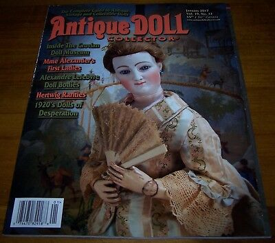 Antique Doll Collector January 2017 - As New