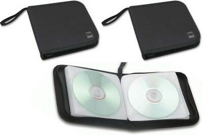 Speedlink 2x Pack CD-Tasche DVD Wallet 24x CD DVD BluRay Disc Booklet Case Hülle