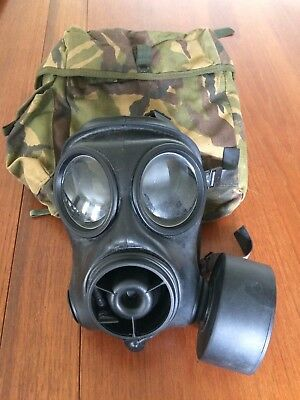 Avon S10 Gas Mask Size 1-Bag, Filter & Detector Papers-New