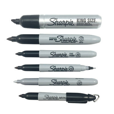 Sharpie Pens Genuine Sharpie Markers Permanent Markers Black & Assorted Sharpies