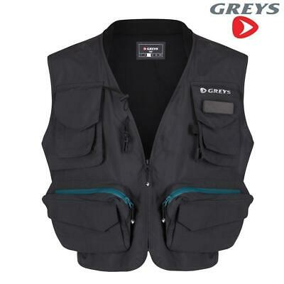 Greys Fly Vest Waist Coat Game Fishing Choose Size  M L Xl Xxl