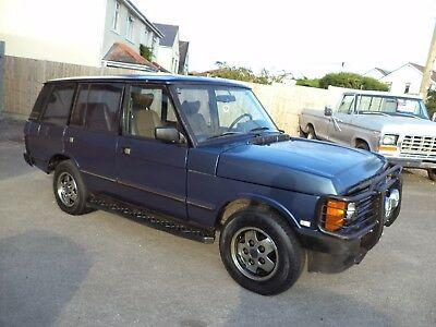 Range Rover 4.2 Lse V8 Auto Lhd Lwb County 5Dr (1993) Met Blue! Drives! Rustfree