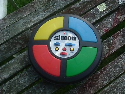 Vintage Simon Early Electronic Memory Game Original 1970s Simple Simon Working