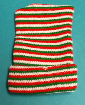 176 Red Green White Acrylic Knit Hats Baby  Full Term Head Warmer Clearance