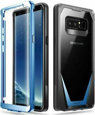 Poetic For Samsung Galaxy Note 8 [Guardian] Rugged Case Full Protection Blue