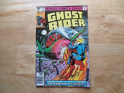 Bronze Age 1980 Marvel Comics Ghost Rider # 45 Signed By Bob Budiansky With Poa