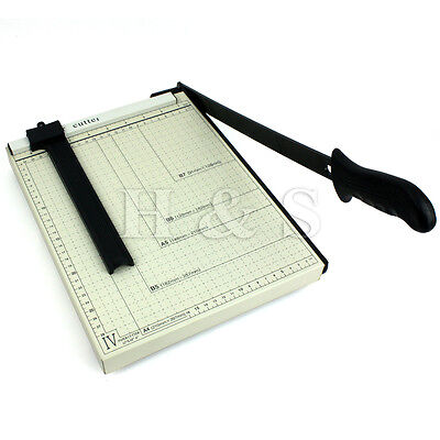 Professional A4 Paper Guillotine Photo Card Cutter Trimmer Machine Home Office