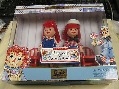 """Barbie, """"raggedy Ann & Andy"""" 1St In Story Book Favorites #24639"""