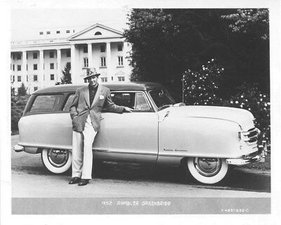1952 Nash Rambler Greenbrier ORIGINAL Factory Photo oub8641