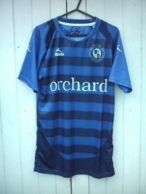 Bnwt Official Bukta Forfar Athletic 125Th Anniversary Home Shirt S/mans