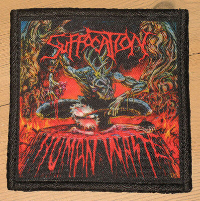 "SUFFOCATION ""HUMAN WASTE"" silk screen PATCH"