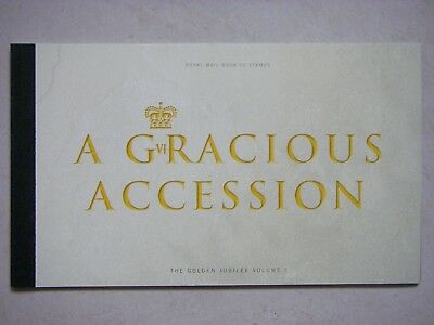 GB Prestige Stamp Booklet 2002 - A Gracious Accession DX28.