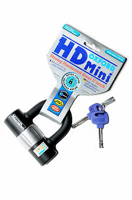 New Oxford Hd Mini Strong  Hardene Steel U Lockd Of161