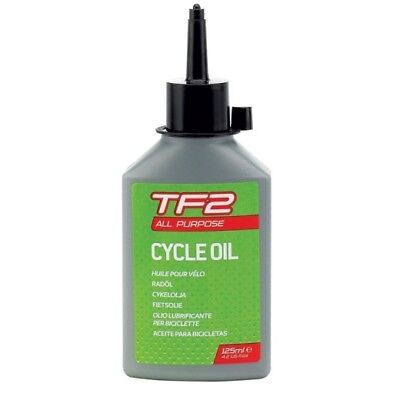WELDTITE TF2 ALL PURPOSE LUBE ROAD MTB BIKE BICYCLE CYCLE CHAIN OIL - 125ml
