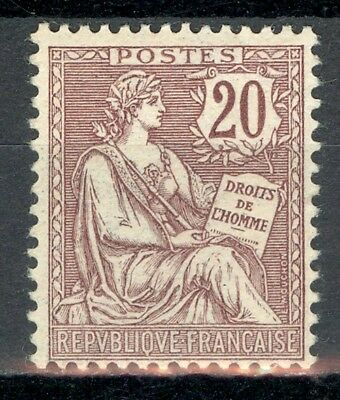 France, timbre N° 126 neuf *, TB