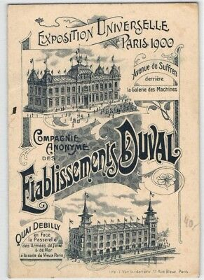 Expo - Postkarte Exposition universelle 1900 (600946)