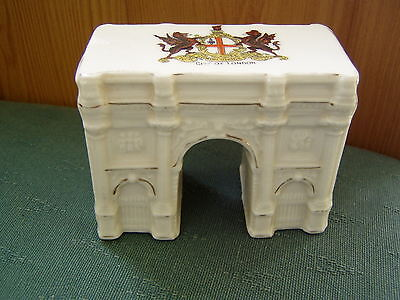 City Of London Model Marble Arch Botolph Crested China