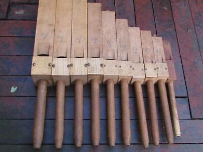Vintage Wooden Pipe Organs - Church Interest