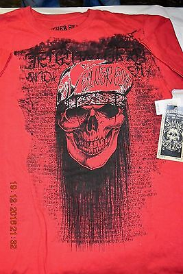 "Skull Clothing, T-Shirt Lot Nwt, Youth, Men's ""l"" Silver Star, Xtreme Couture,"