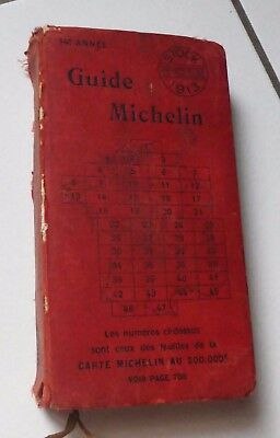 Guide Michelin Rouge 1913