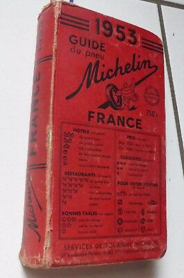 Guide Michelin Rouge 1953