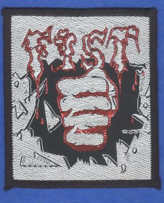 Fist vintage 1980s SEW-ON PATCH