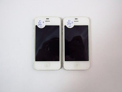 Lot of 2 Apple iPhone 4s 64GB A1387 AT&T Check IMEI B PB2