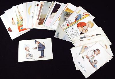 Vintage Collection of MABEL LUCIE ATTWELL SERIES Baby Children POSTCARDS  - H11