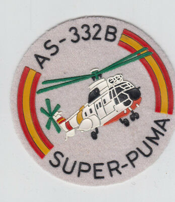 Patch Spain  Helicopter As-332B Super Puma   Parche