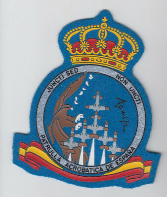 Patch Spain San Javier Afb Aerobatic Team Parulla Aguila C-101 Parche