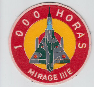 Patch Spain Albacete  Mirage Iii E  1000 Hours Parche